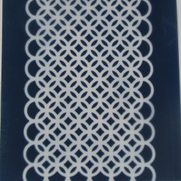 Silk Screen Interlocking Circles