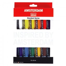 Amsterdam Acrylic Color Set 12