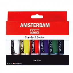 Amsterdam Acrylic Color Set 6