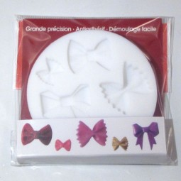 Mini Silicone Mold Bows