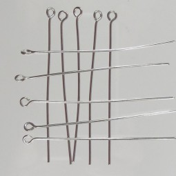 Stainless Steel Eye Pins (20)