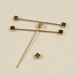 Thread pin with 2 cubes