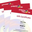 50 Euro Gift Certificate
