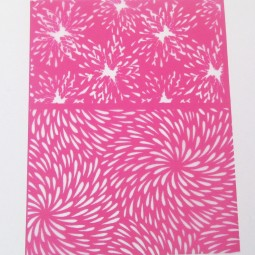 Silk Screen Crazy - Chrysant