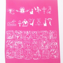 Silk Screen Egypt-Mayan