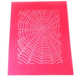 Silk Screen Spider Web