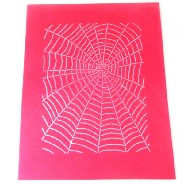 KW-Silk Screen Spider Web