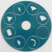 Discs for CZEXTRUDER Set 3 turquoise