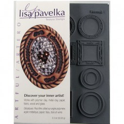 Lisa Pavelka Texture Stamps Set
