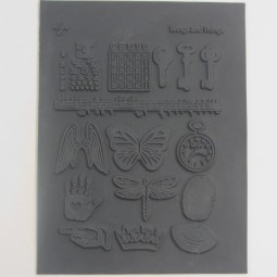 Lisa Pavelka Texture Stamp Wings & Things