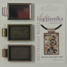 Lisa Pavelka Rectangle Bezels