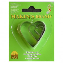 Makin's Heart Cutter Set