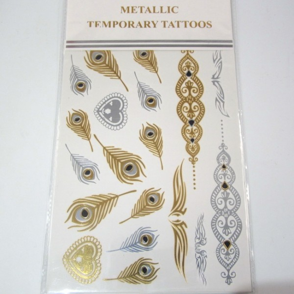 Metallic Tattoos 1