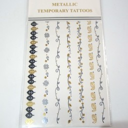 Metallic Tattoos 2