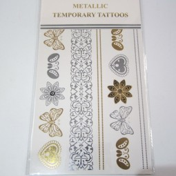 Metallic Tattoos 3