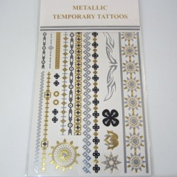 Metallic Tattoos 4