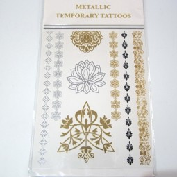 Metallic Tattoos 5