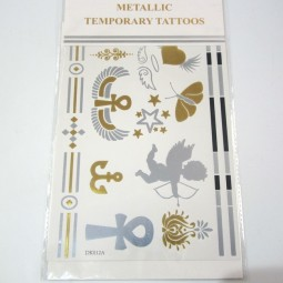 Metallic Tattoos 6