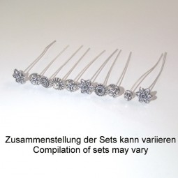 Decor Headpin Set Silver