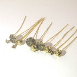 Decor Headpin Set Gold