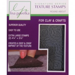 Lisa Pavelka Texture Stamp Set