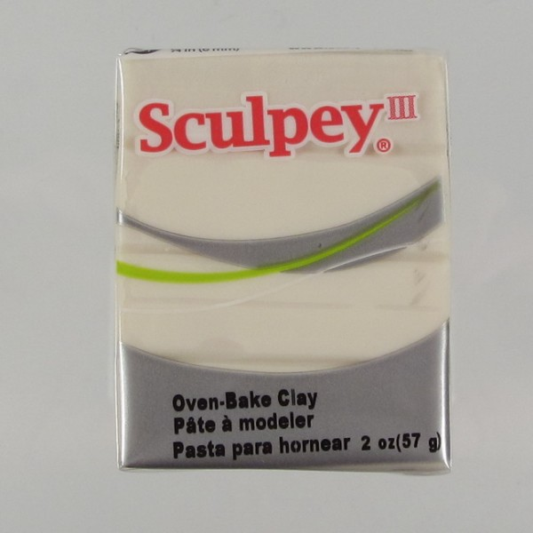 Sculpey III Glow in the Dark