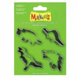 Makin's Large Cutter Set Dinosaurs