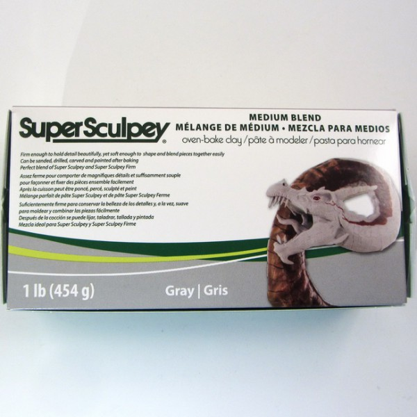 Super Sculpey Medium Blend®