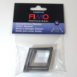 Fimo Cutter Set Diamond