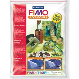 Fimo Texture Sheets Wood - Wickerwork