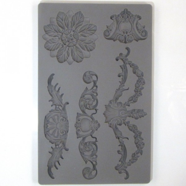 Vintage Art Decor Mould Baroque